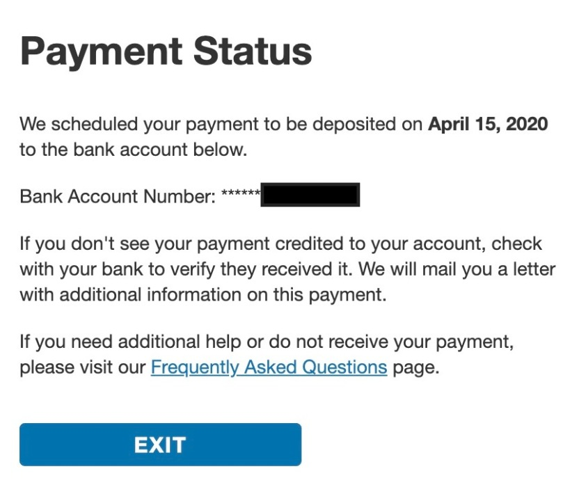 Irs Launches Get My Payment Tool To Track Your Stimulus Payment