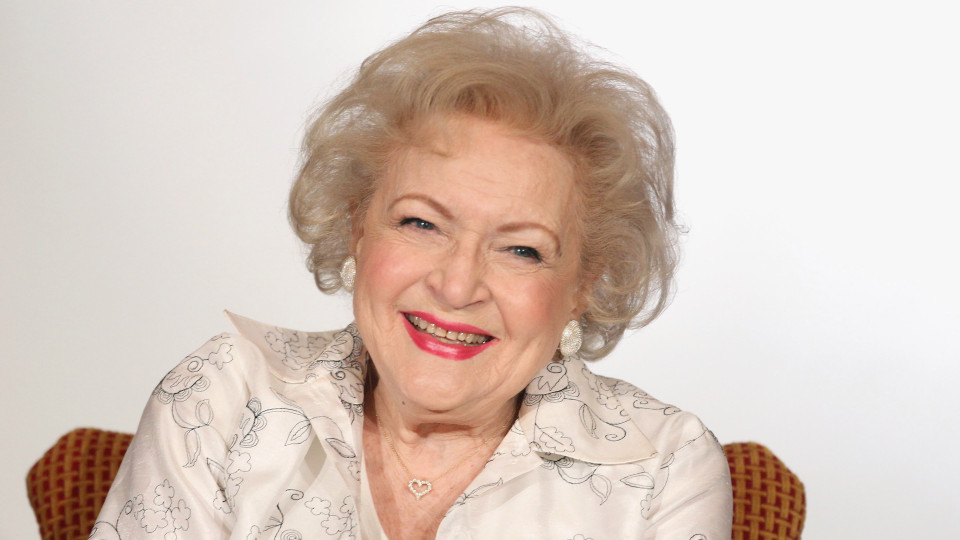 "Betty White speaks onstage during the Informal Session: Betty White's Off Their Rockers"" panel during the NBCUniversal portion of the 2012 Winter TCA Tour (Photo by Frederick M. Brown/Getty Images)"