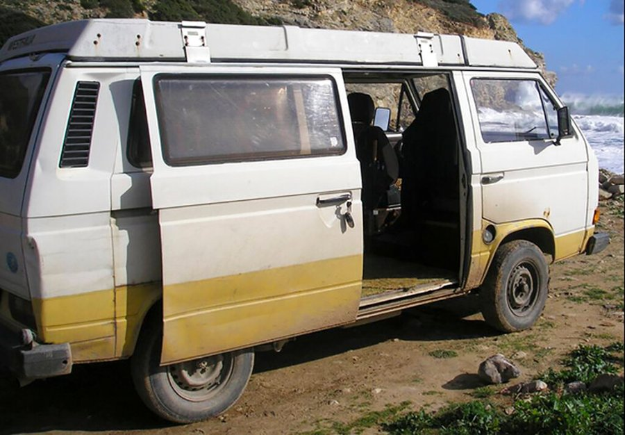 This photo provided by the German Federal Police, Bundeskriminalamt, BKA, shows a camper van vehicle. British police said Wednesday that a German man has been identified as a suspect in the case of 3-year-old British girl Madeleine McCann, who disappeared 13 years ago while on holiday in Portugal. Police from Britain, Germany and Portugal launched a new joint appeal for information in the case Wednesday. They asked to come forward anyone who had seen two vehicles linked to the suspect _ the Volkswagen camper van and a Jaguar. (Bundeskriminalamt via AP)