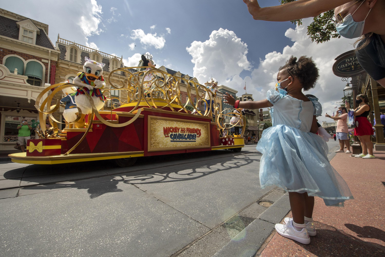 Walt Disney World reopens as coronavirus cases surge in Florida