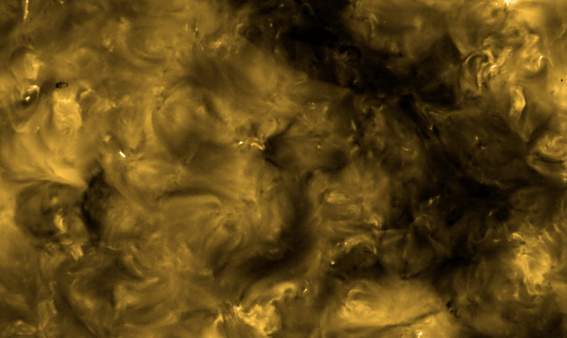 The Extreme Ultraviolet Imager (EUI) on ESA's Solar Orbiter spacecraft took these images on 30 May 2020. They show the Sun's appearance at a wavelength of 17 nanometers, which is in the extreme ultraviolet region of the electromagnetic spectrum. Images at this wavelength reveal the upper atmosphere of the Sun, the corona, with a temperature of around 1 million degrees.