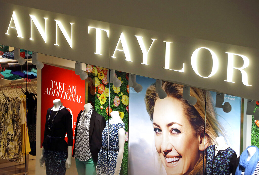 The operator of Ann Taylor and Lane Bryant filed for Chapter 11 bankruptcy on Thursday, the latest retailer to do so during the pandemic. Mahwah, New Jersey-based Ascena Retail Group Inc., which operates nearly 3,000 stores mostly at malls, has been dragged down by debt and weak sales for years. (AP Photo/Gene J. Puskar, File)
