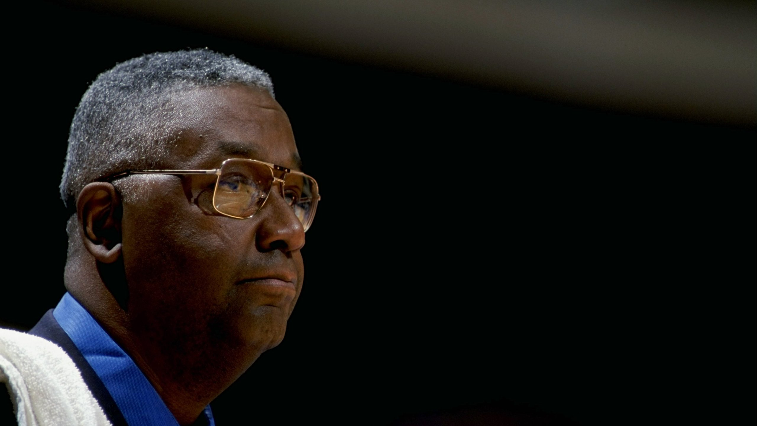 Coach John Thompson in 1999. (Getty Images)