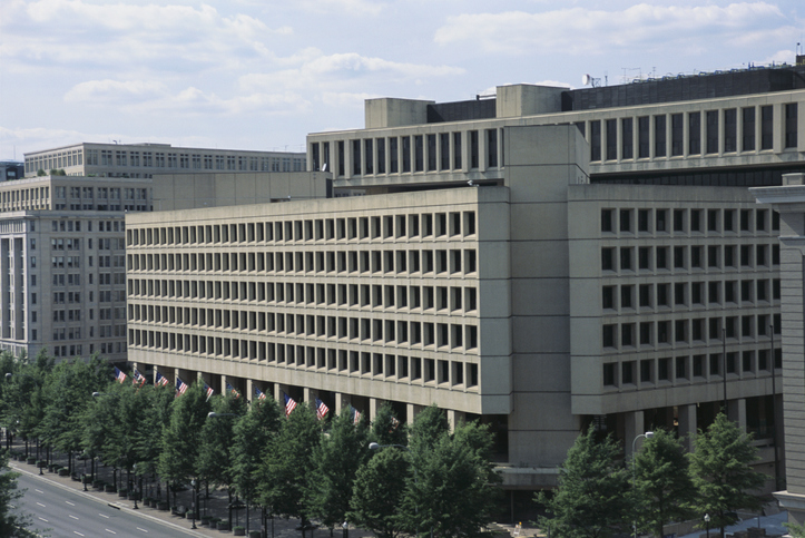 J. Edgar Hoover FBI Building Exterior
