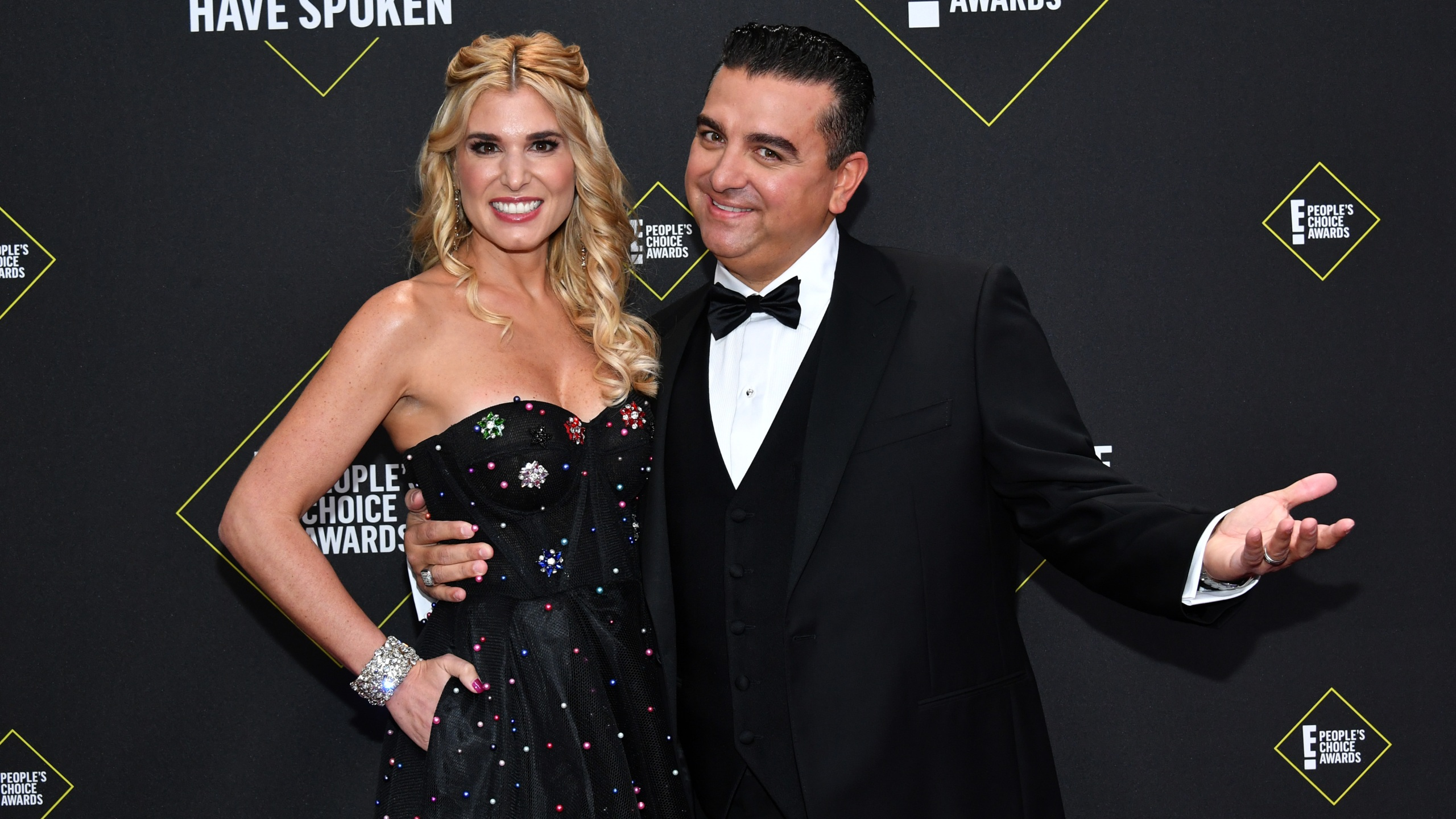 Lisa Valastro and Buddy Valastro arrive at the 2019 E! People's Choice Awards. (Photo by: Amy Sussman/E! Entertainment/NBCU Photo Bank)
