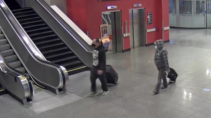 Luggage stolen