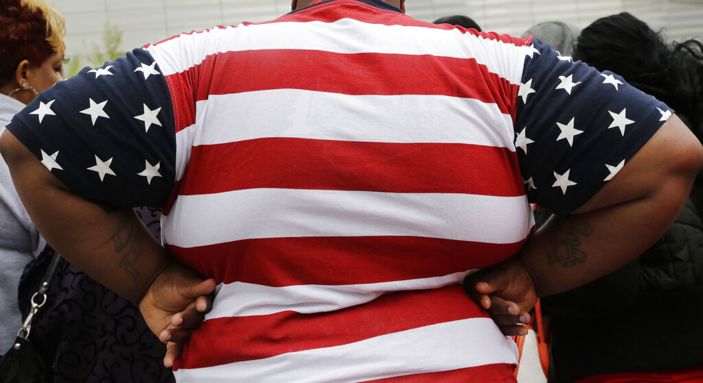 As obesity rates climb in the U.S., more Americans say they're following special diets compared to a decade ago. (AP Photo/Mark Lennihan, File)