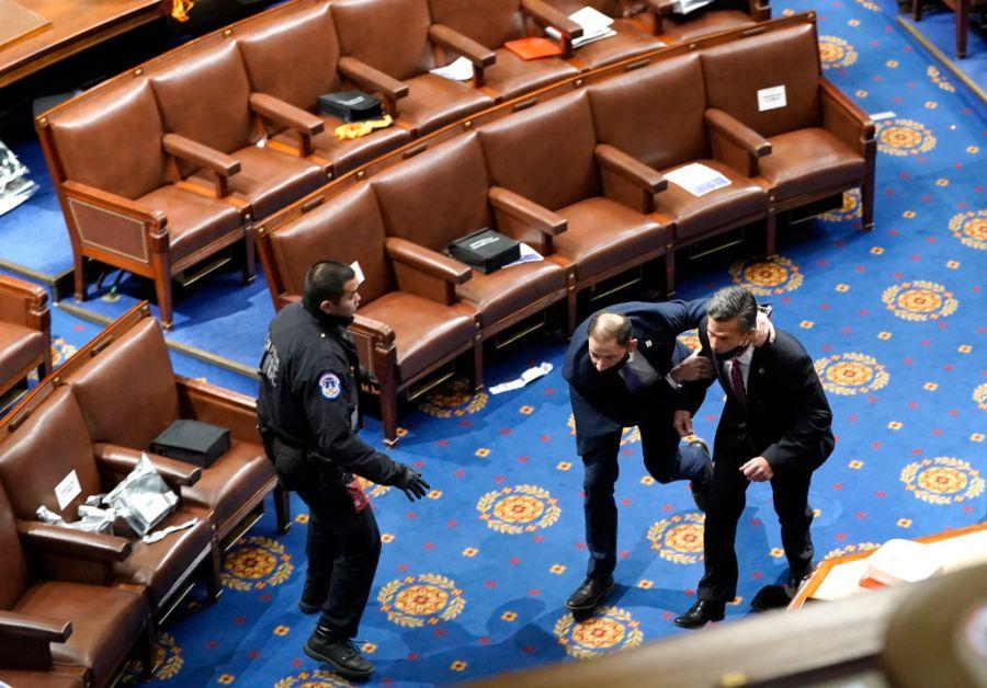 Capitol rioting