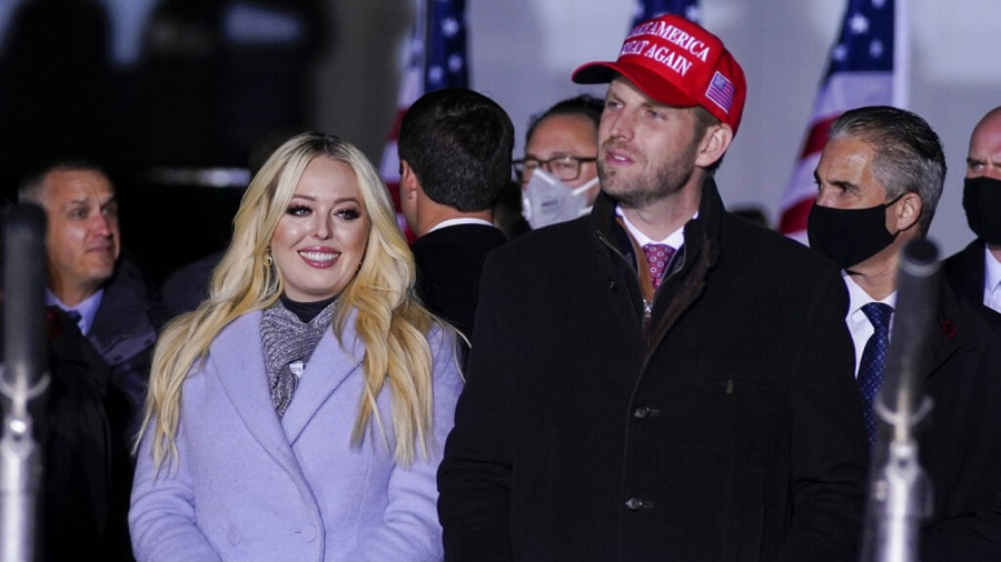 Tiffany Trump and Eric Trump