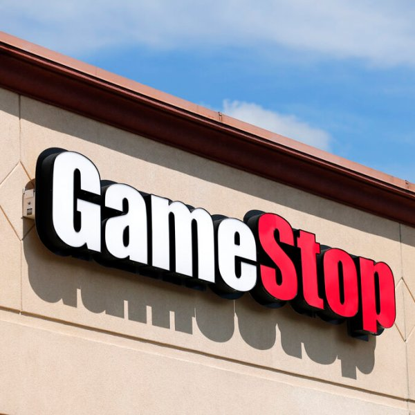A GameStop store in St. Louis. Two hedge funds are bowing out of their short positions on the money-losing video game retailer. Citron Research's Andrew Left said in a video posted on YouTube that his company is going to become more judicious in shorting stocks. Melvin Capital is also exiting GameStop, with manager Gabe Plotkin telling CNBC that the hedge fund was taking a significant loss. (AP Photo/Jeff Roberson, File)