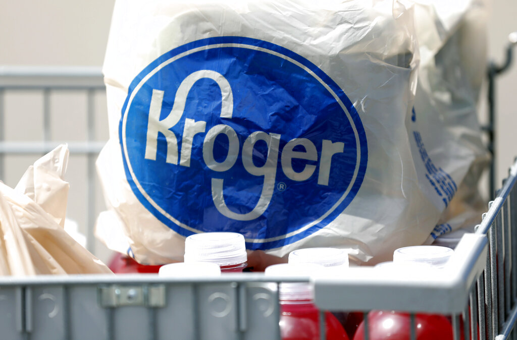 Kroger Bag Supermarket Shopping