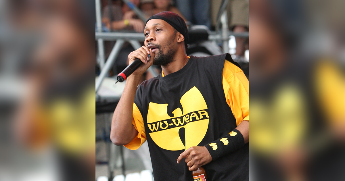 RZA performs