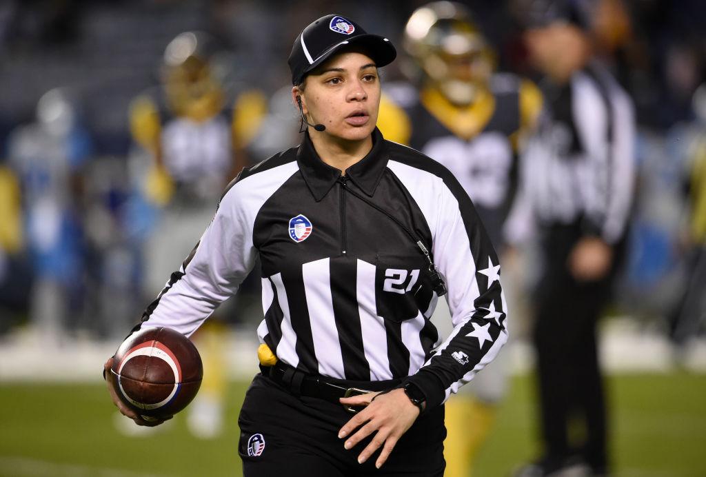 Referee Maia Chaka