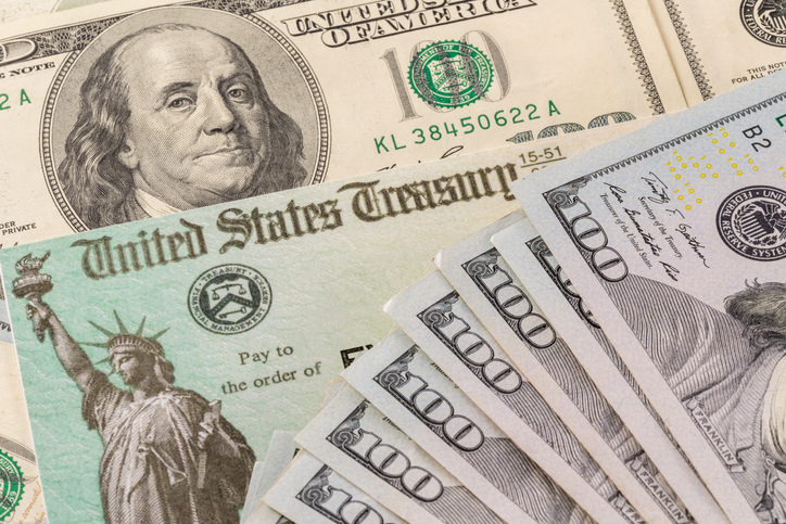 Plus-up stimulus check payment