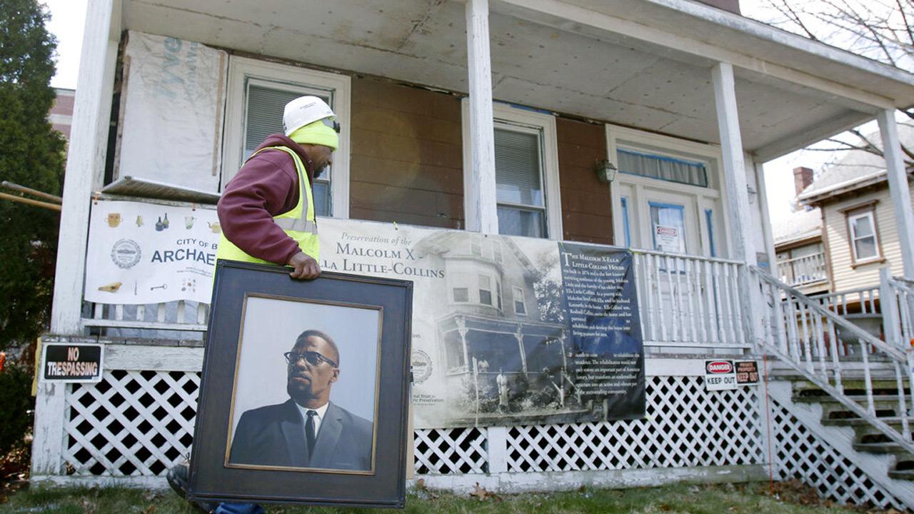 Malcolm X home