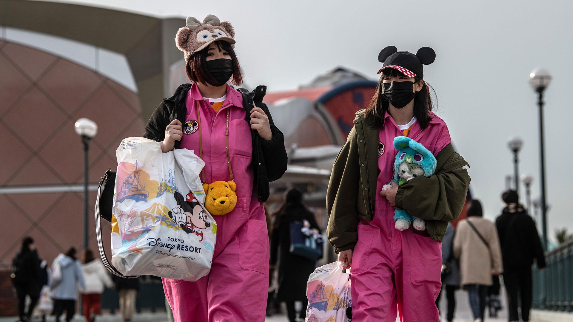 Tokyo Disneyland - COVID