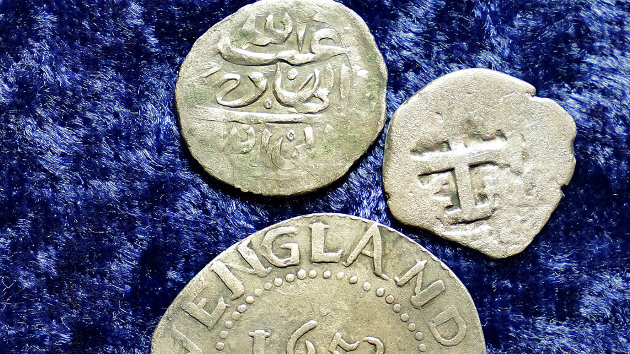 Pirate Plunder, ancient coins