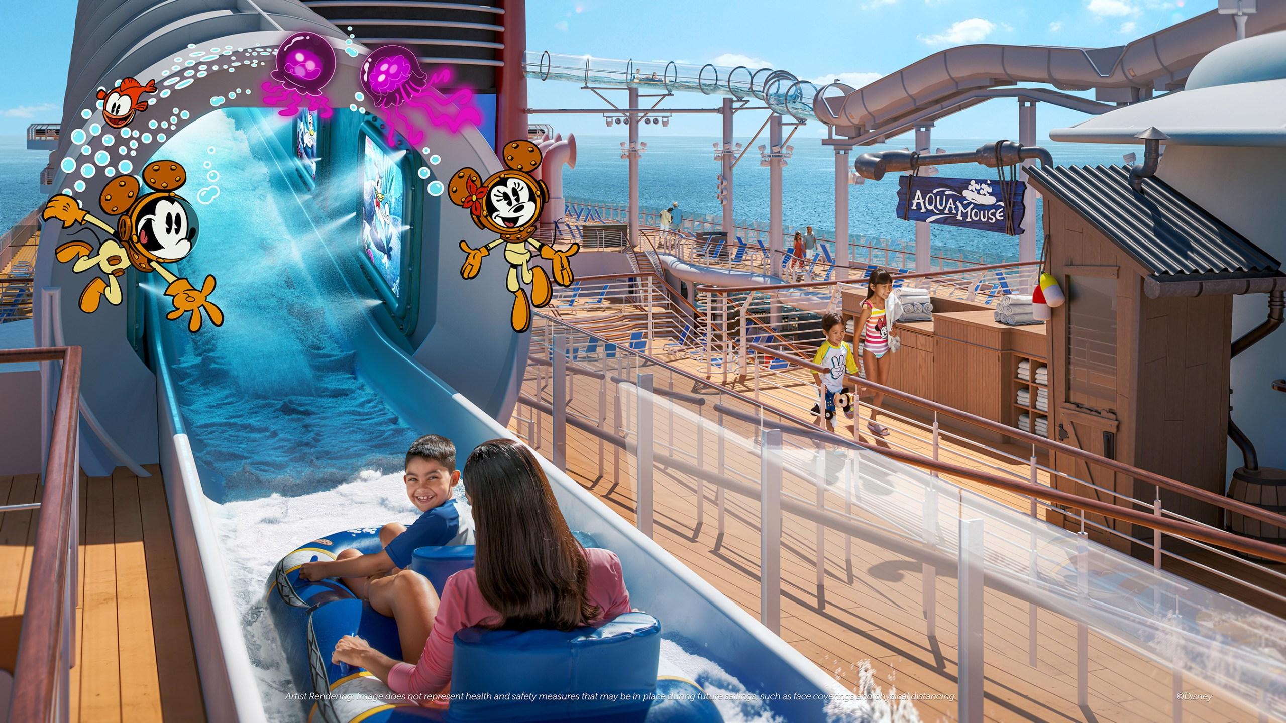 Disney Wish - AquaMouse