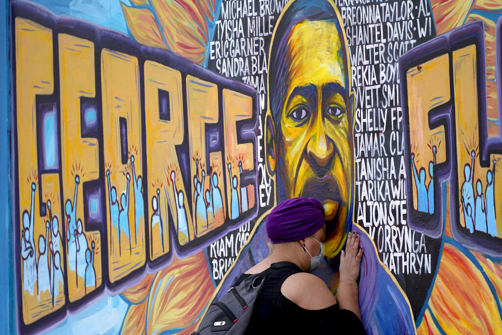 George Floyd Mural, George Floyd Square