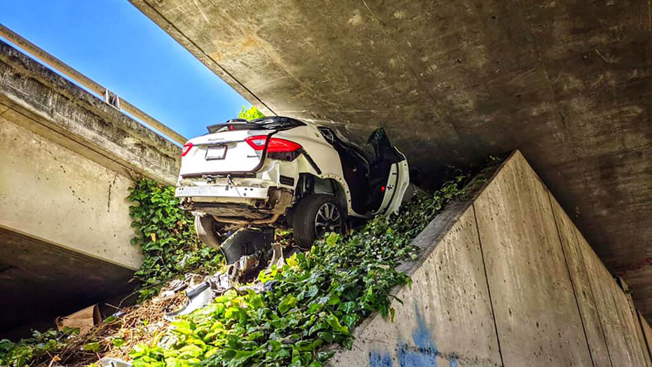 Maserati Crash
