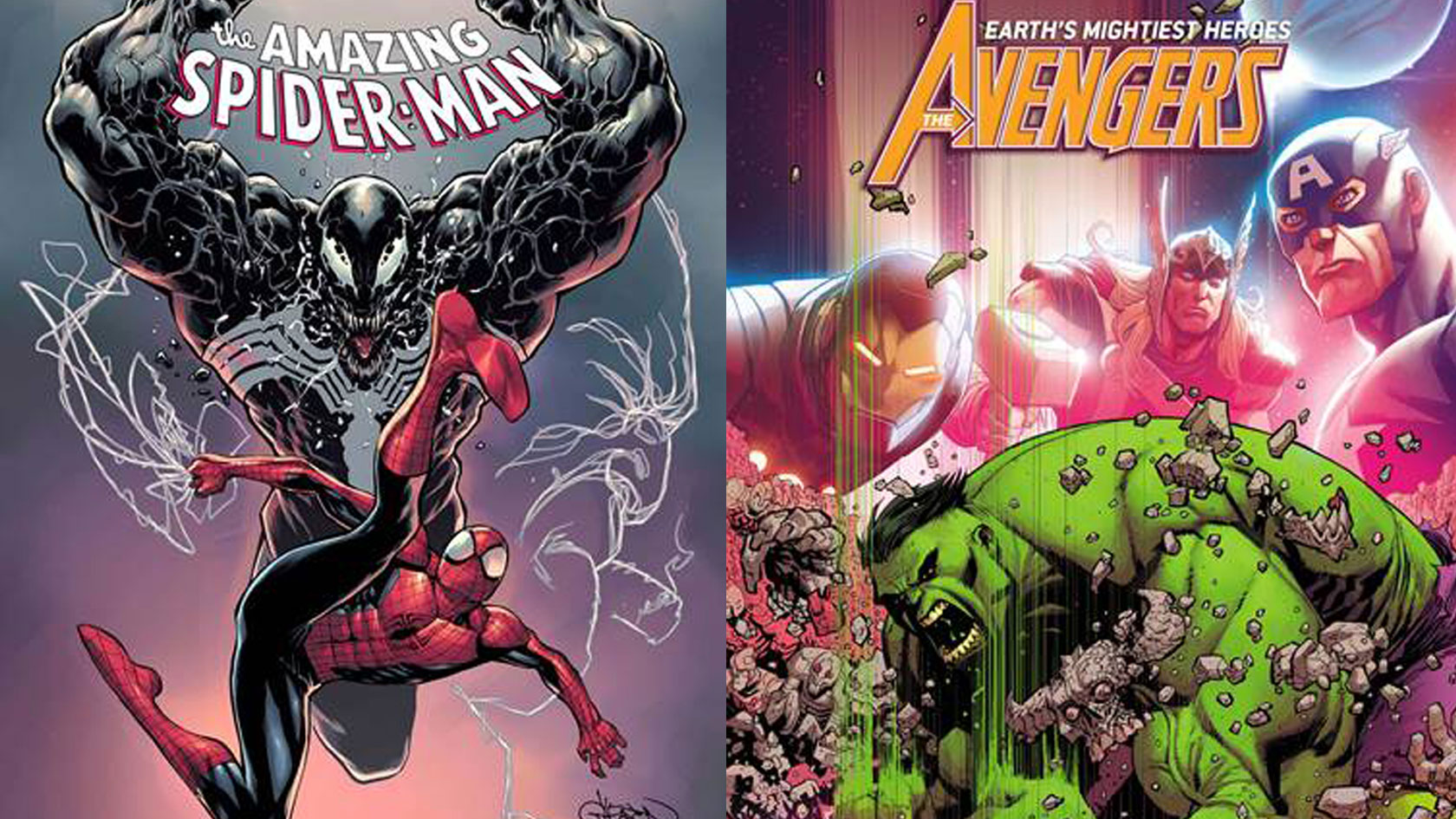 Free Comic Book Day: Avengers/Hult and Free Comic Book Day: Spider-man/Venom