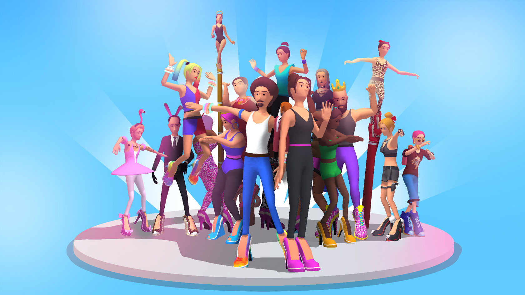 "Mobile Game ""High Heels"""