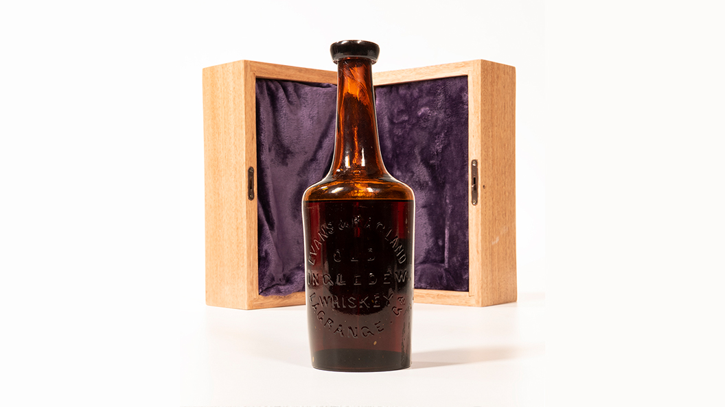Old Ingledew Whiskey, Oldest Known in Existence