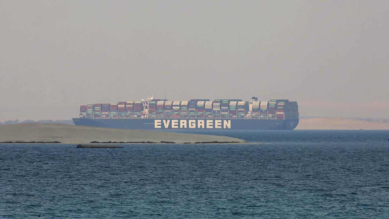 Panama-flagged cargo ship