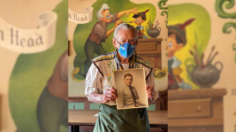 Disney World Alex Stromski Veteran WWII