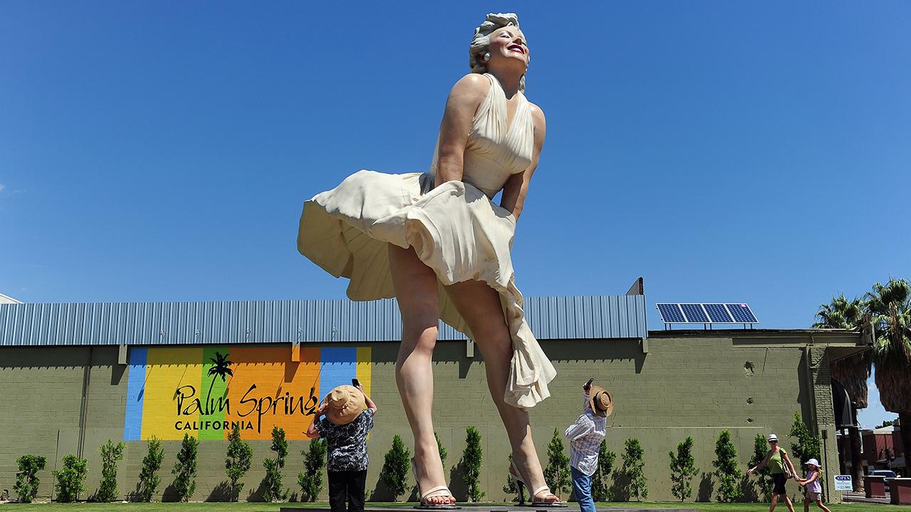 Marilyn Monroe Statue Palm Springs