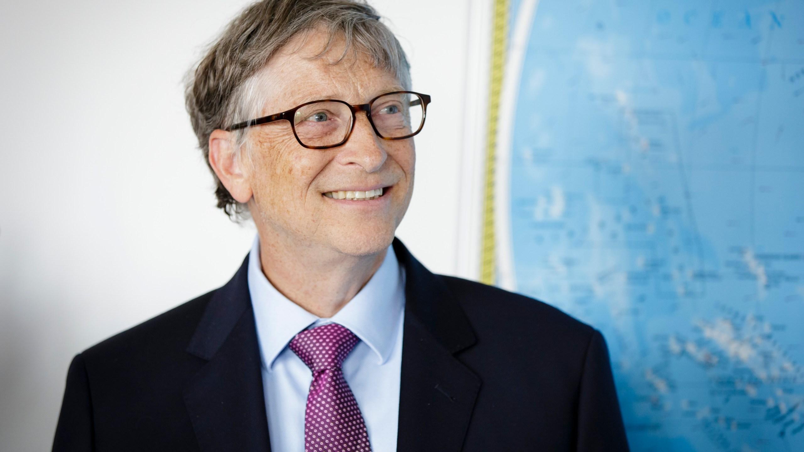 Bill Gates in Berlin, Germany in 2018 . (Photo by Inga Kjer/Photothek via Getty Images)