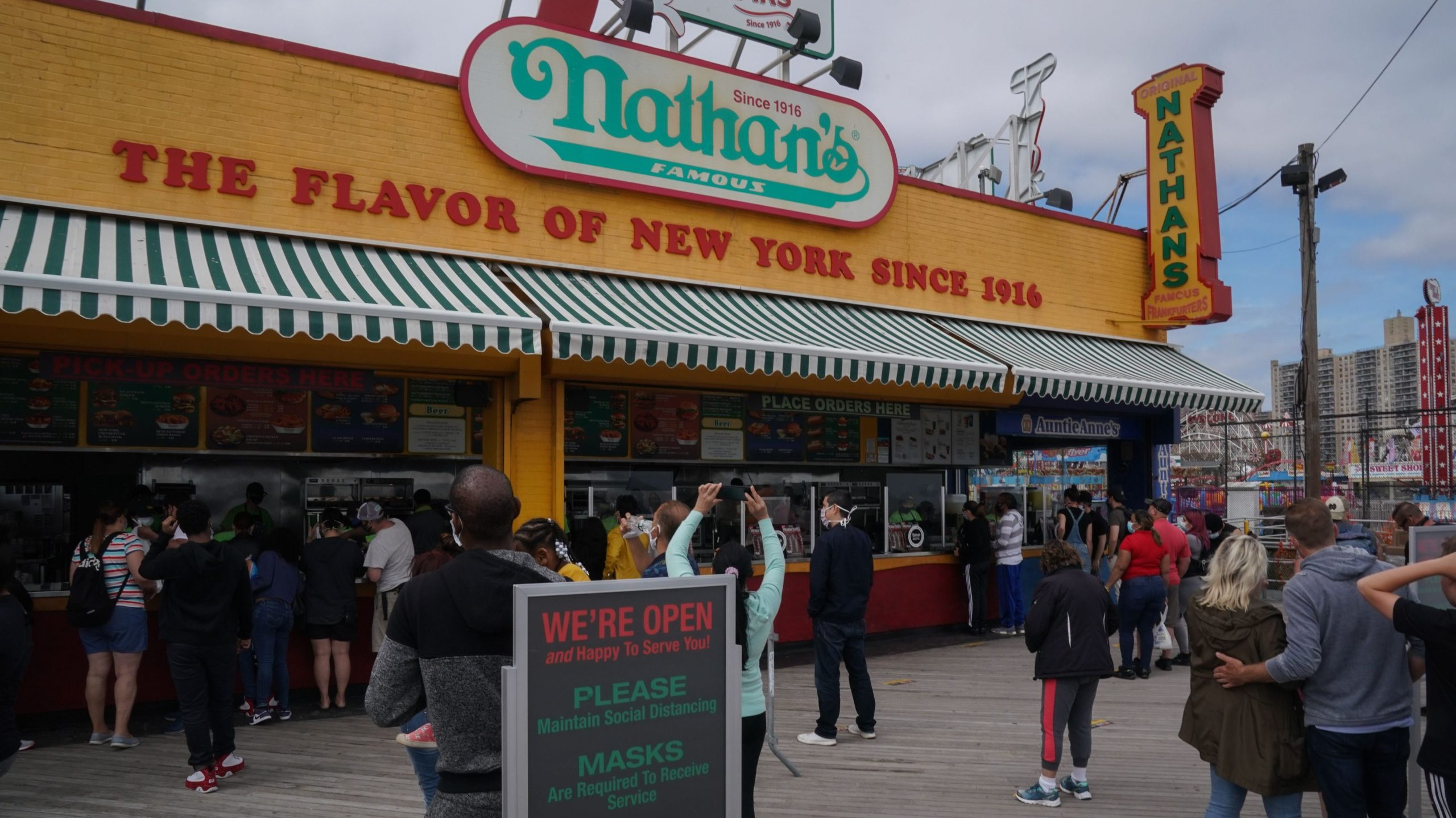 Nathan's Famous Brooklyn