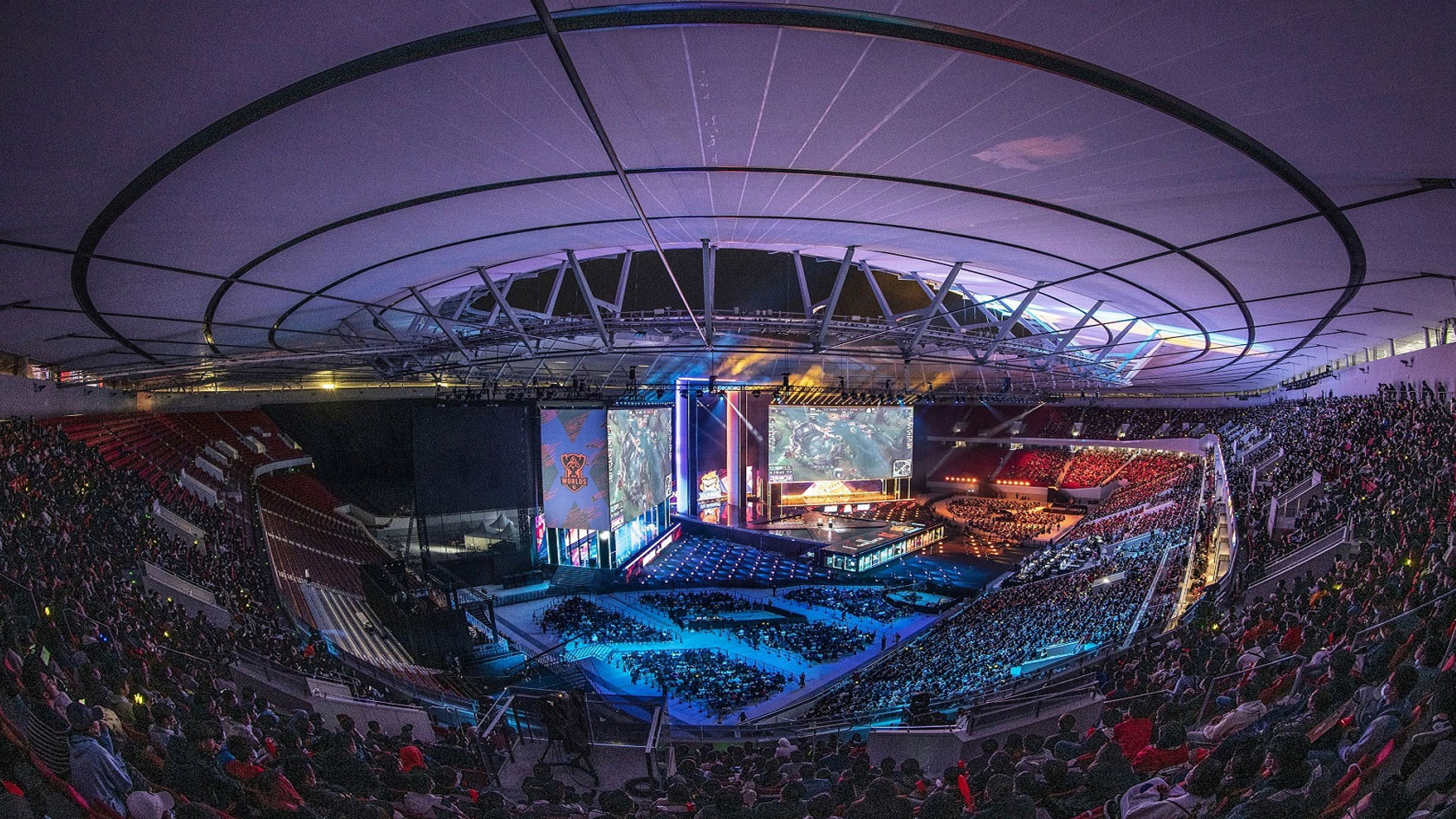 Worlds Finals Arena