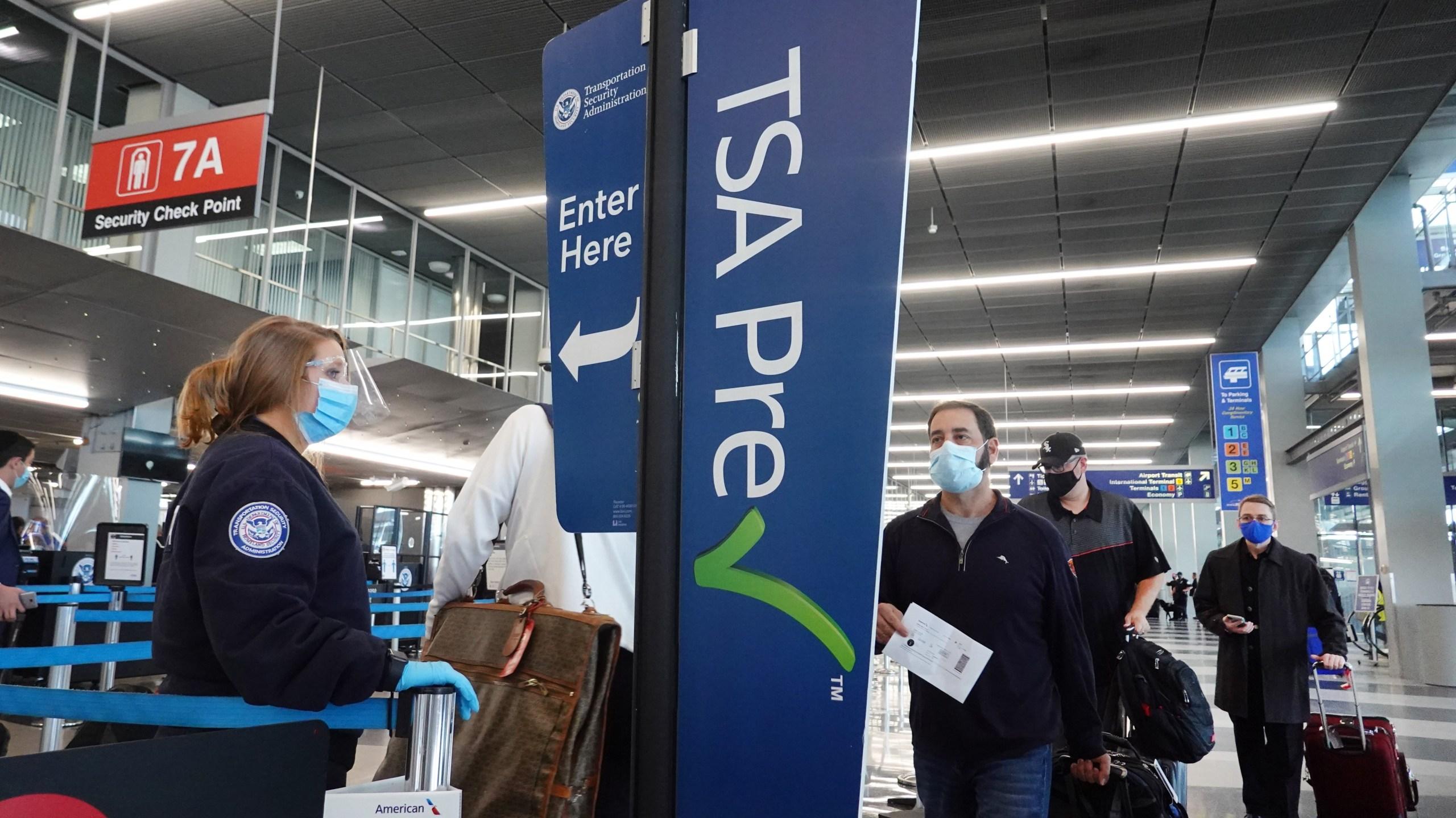 TSA PreCheck Line Airport