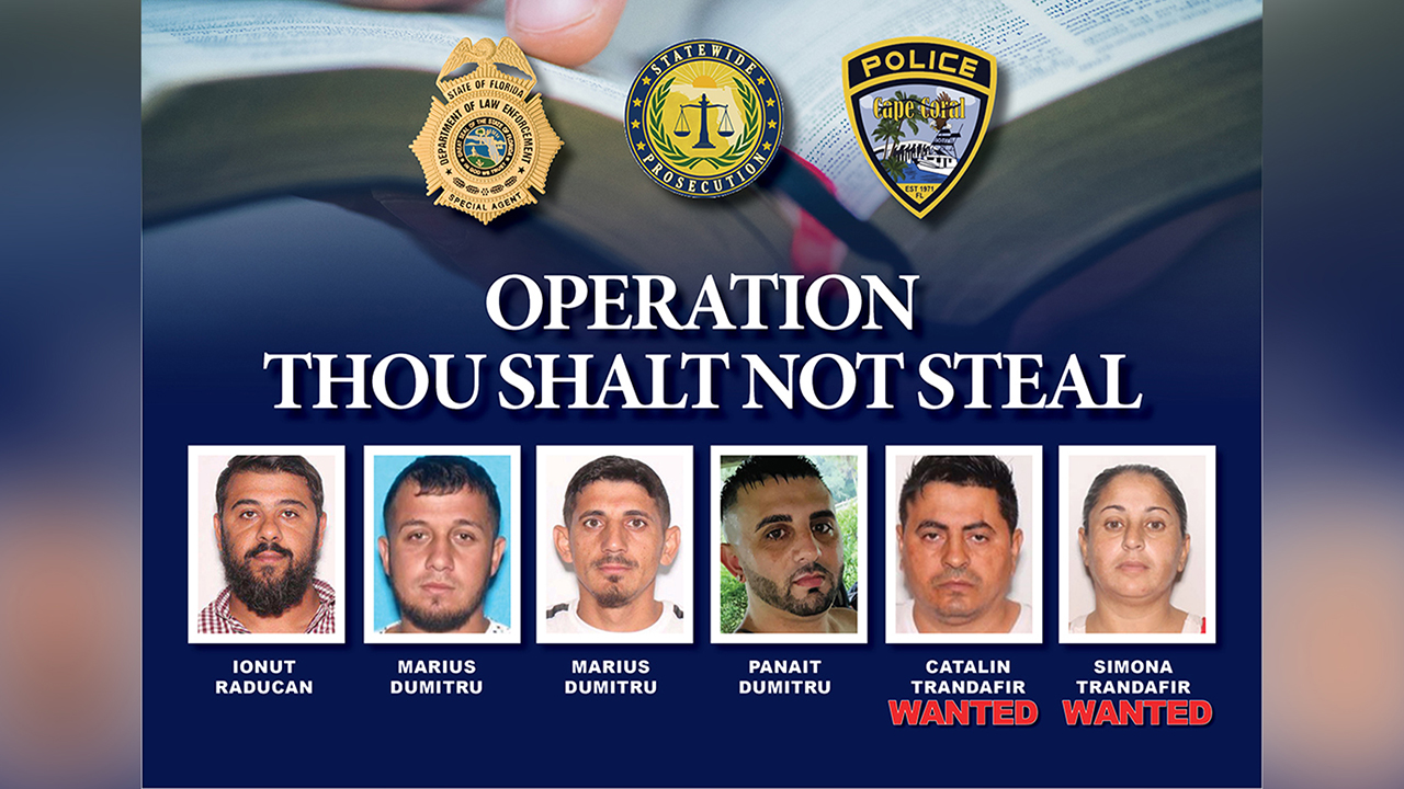 Operation Though Shalt Not Steal