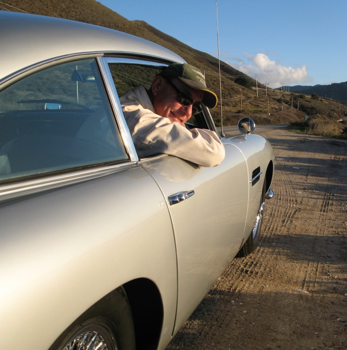 Neil Peart's 1964 Aston martin DB5, image courtesy of Gooding & Company. Photo by Matt Scannell.