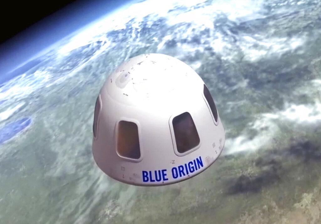 Blue Origin space capsule
