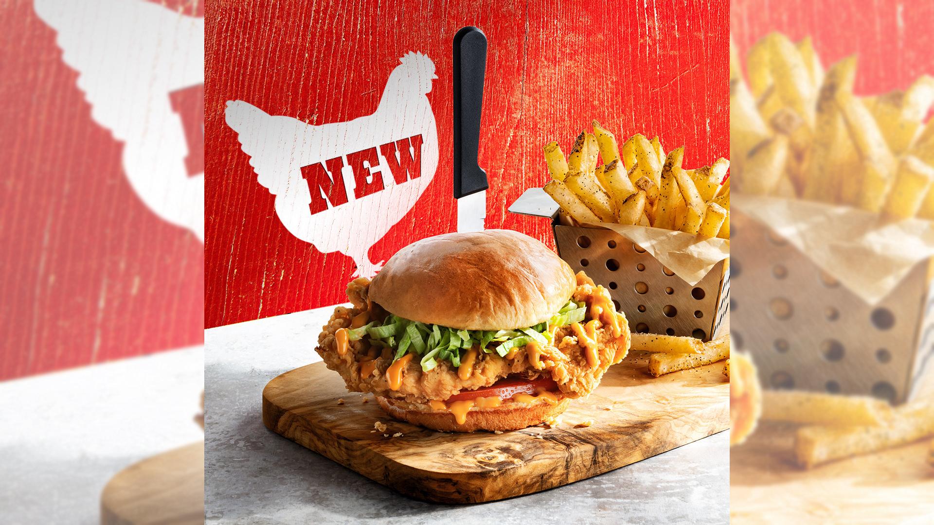 Chili's Chicken Sandwich
