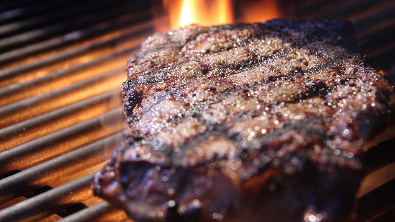 Steak Ribeye on the Grill