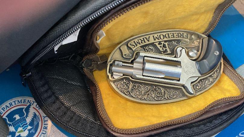 TSA Gun Belt Buckle