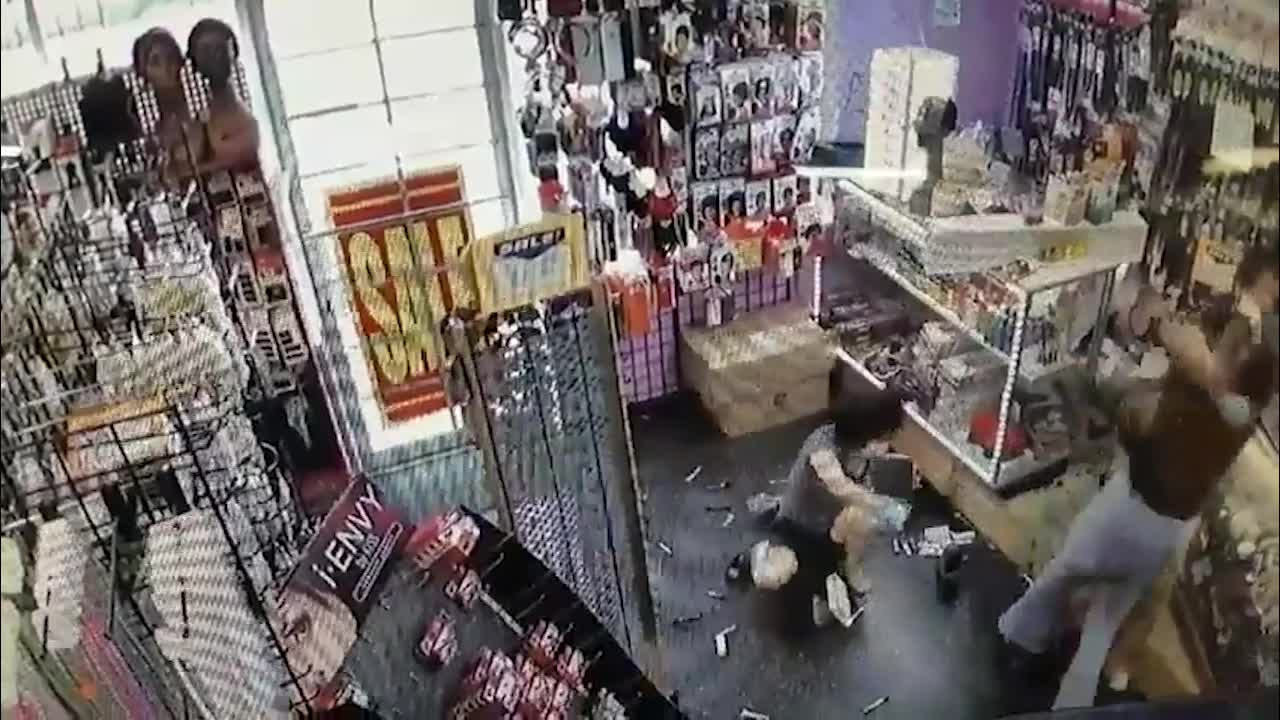 Beauty supply store attack