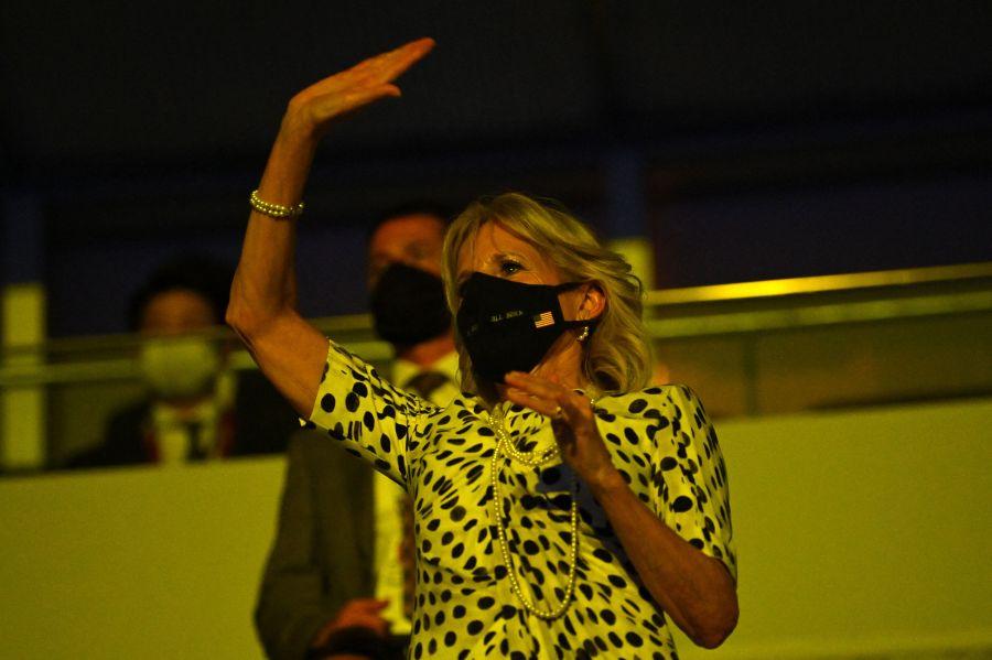 Jill Biden at Tokyo Olympics Opening Ceremony
