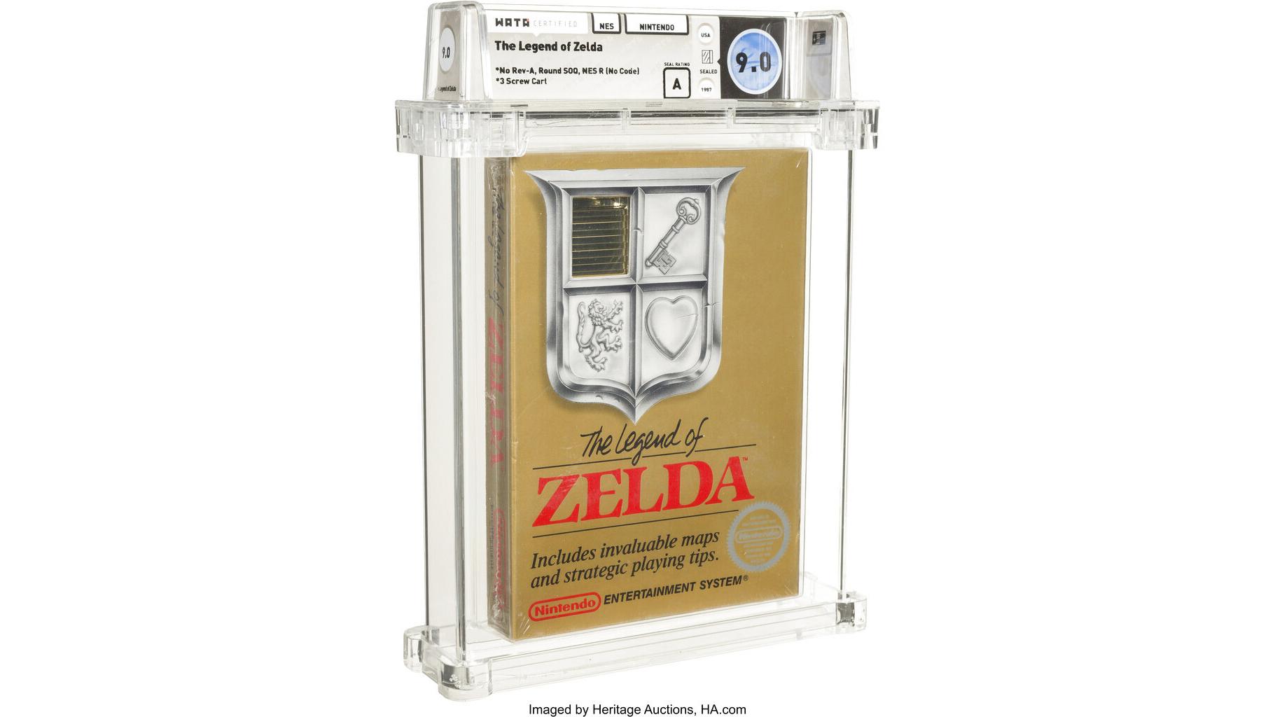 Zelda heritage Auctions