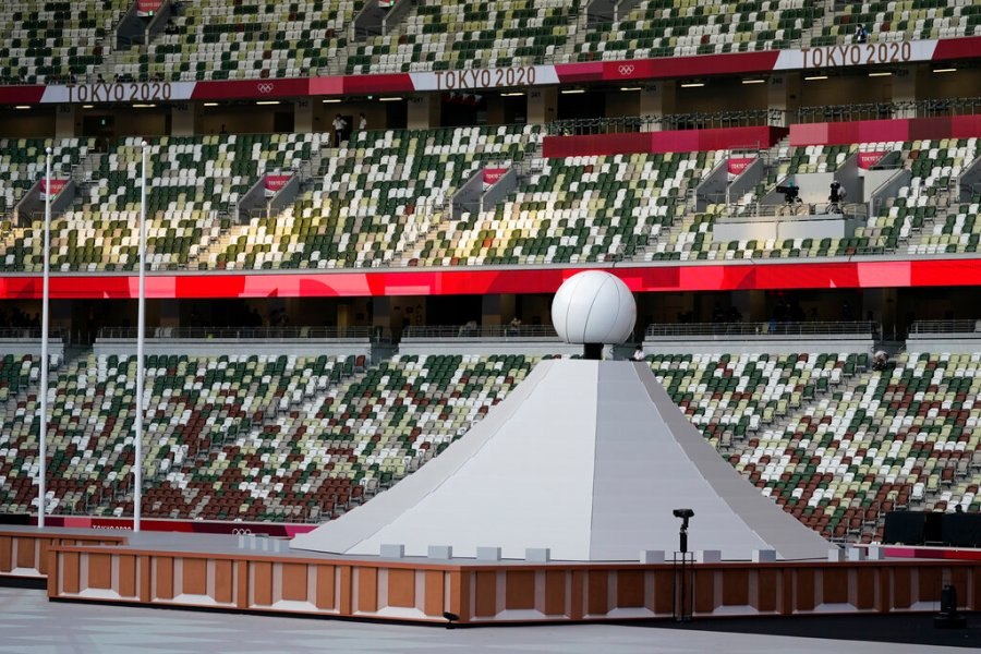Tokyo Olympics cauldron