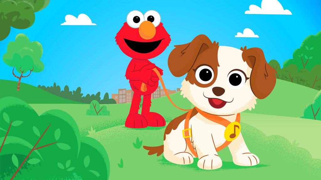 Elmo Gets a Puppy