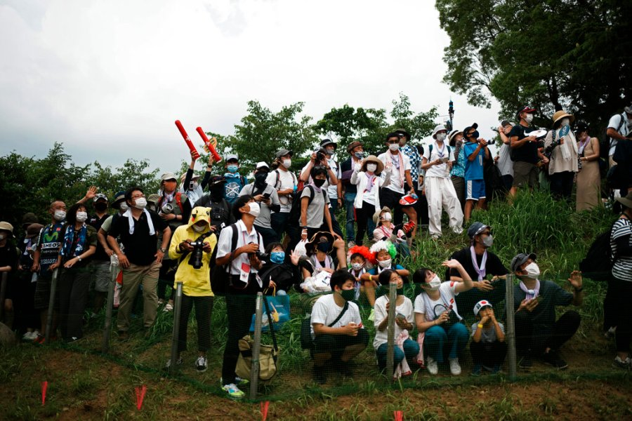 Tokyo Olympics fans