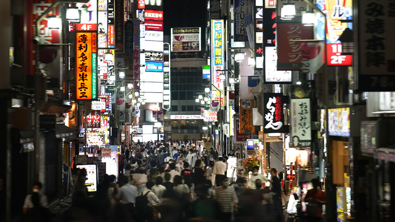 Tokyo's entertainment district