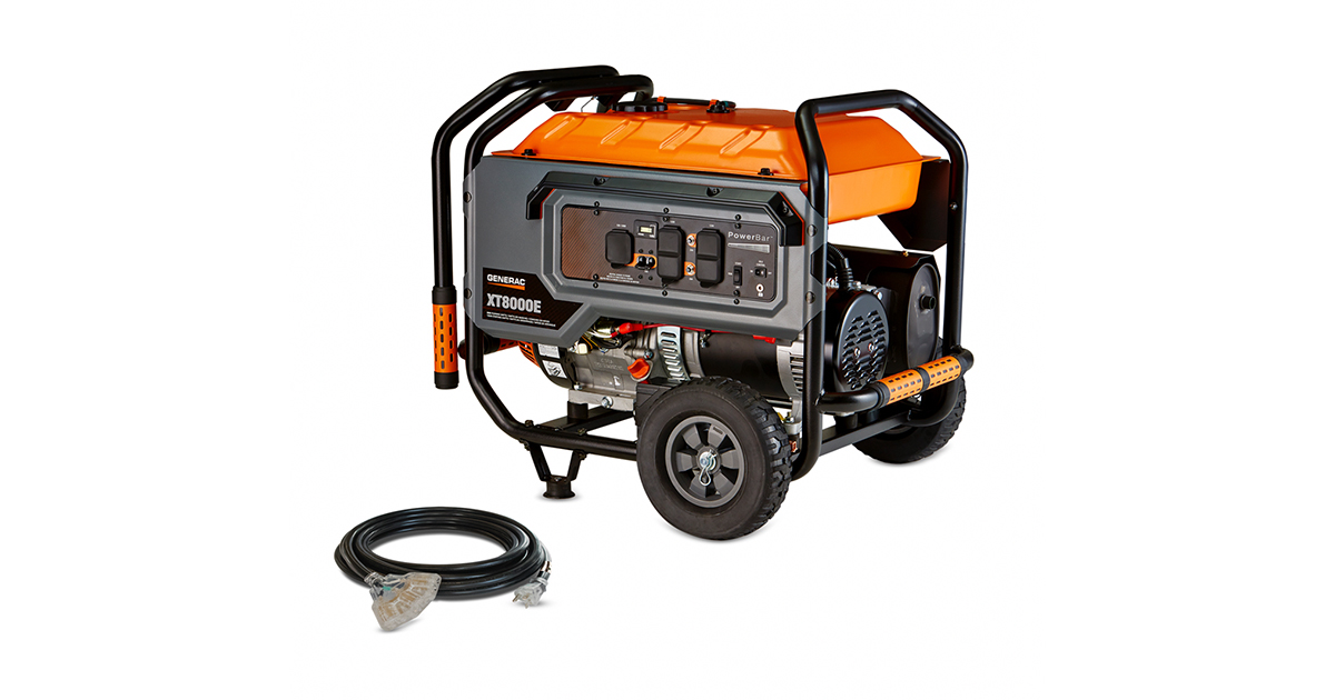 Recalled XT8000E Generator (Consumer Product Safety Commission)