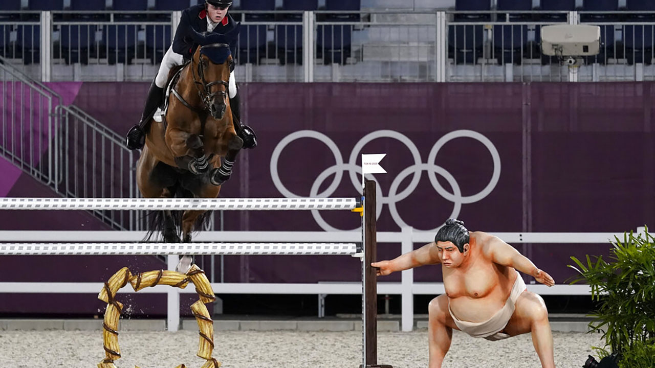 Britain's Harry Charles, riding Romeo 88